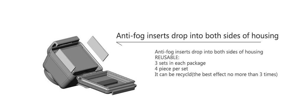 KingMa Anti-fog Interts Moisture Recycle Anti Fog Drying GoPro Hero 4 3+ 3 2 sj4000 Xiaomi Yi Action Sport Camera Accessories