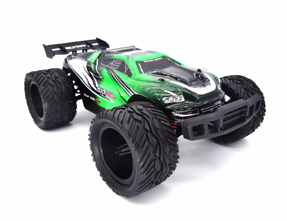 Keliwow 1/12 Scale RC Car 2.4Ghz Brushed Motor 4X4 Driving High Speed Bigfoot Car Off Road Dirt Bike Toys Truck RTR(China (Mainland))