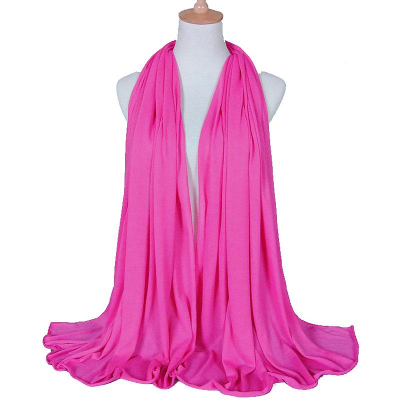 21 color High quality jersey scarf cotton plain elasticity shawls maxi hijab long muslim head wrap long scarves scarf 5 pcs/lots(China (Mainland))