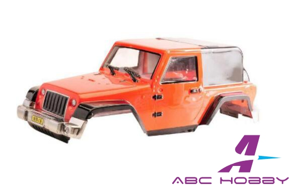 1/10 SCALE Clear Wrangler Body for D90 G2 SCX10 Wheel Base 270mm(China (Mainland))