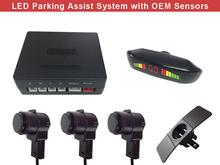 Заподлицо место датчик парковки OEM европейский стиль из светодиодов дисплей