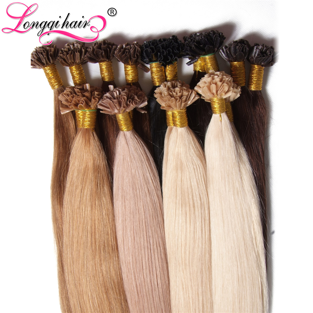 Indian Remy Nail Tip Extensions 115