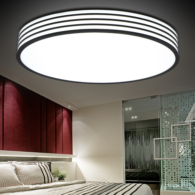 modern living room lights circular led ceiling light acrylic