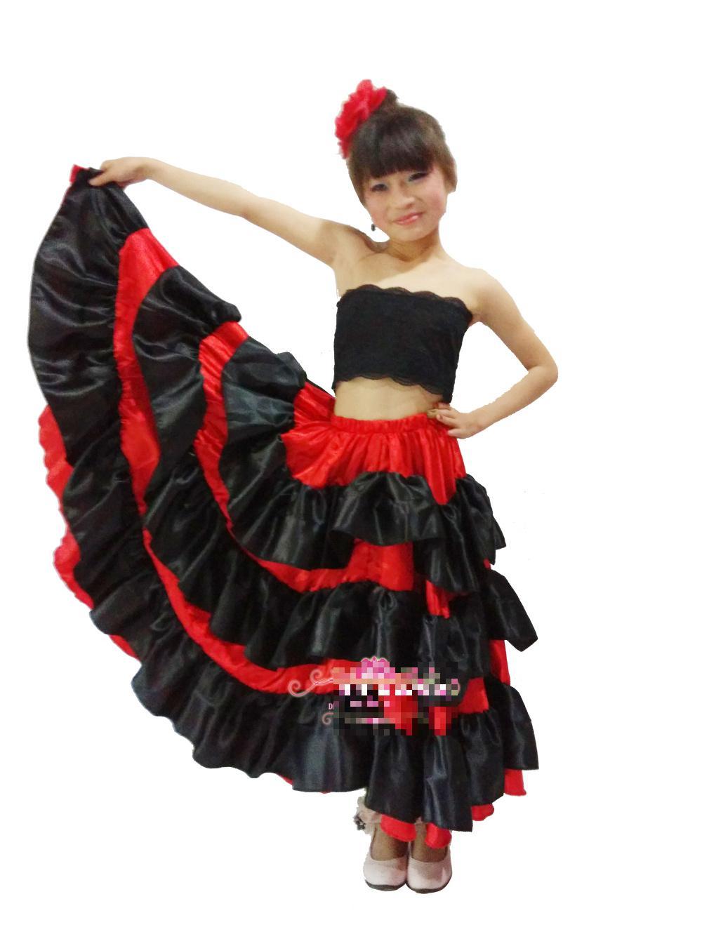 Испанские юбки (76 фото с чем носить и как сшить своими) 74