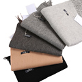 Luxury brandMen scarf winter real cashmere & Artificial wool feeling Scarf Men Tassels/grey color of Scarves for christmas gift