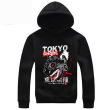 New ArrivelHigh Quality Tokyo Ghoul Hoodie Pullover Anime Ken Kaneki Cosplay Costume Jacket Coat(China (Mainland))