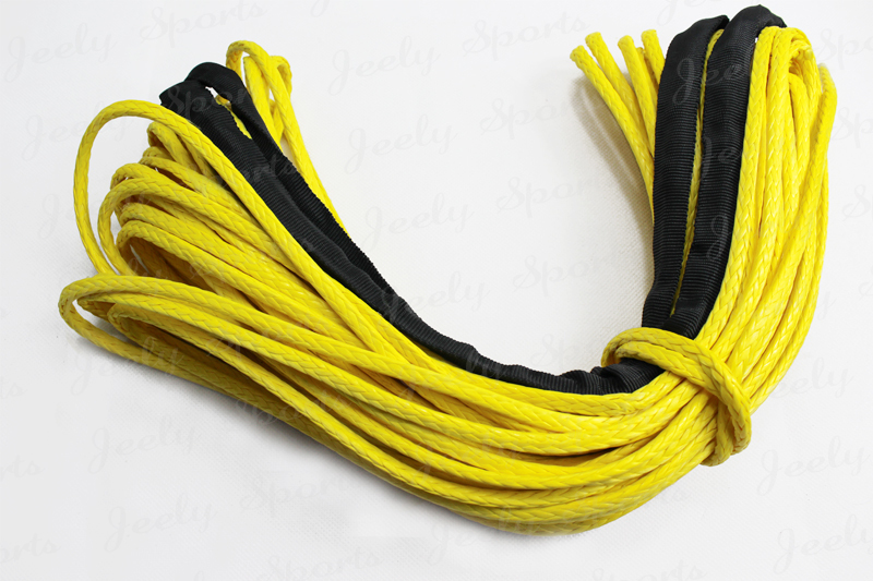 Free Shipping 5MM*50Meter SL Dyneema Fiber Synthetic Winch Cable/Rope for 4WD/ATV/UTV/SUV Winch Use<br><br>Aliexpress