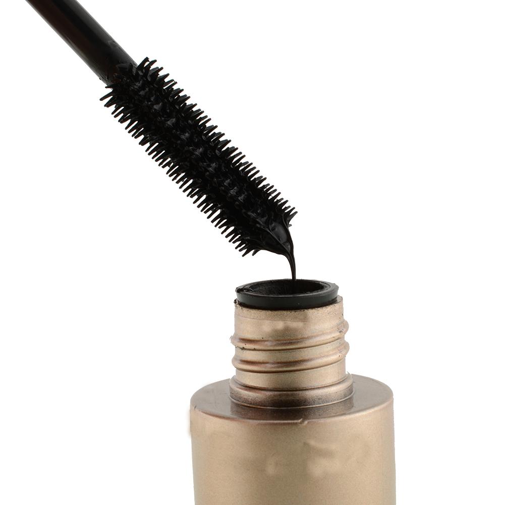 Hot Poratble Waterproof Women Professional Makeup Silicone Eyelash Mascara Beauty Cosmetics Longlasting(China (Mainland))