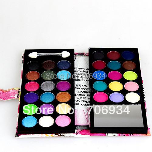 Eye shadow Palette 15 Matte+18 Pearl 1pcs/lot 33 color Matte Shdow Eyeshadow Makeup 8814A(China (Mainland))