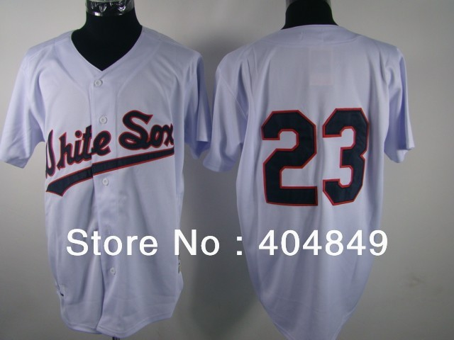 AA+ 23 multiple Robin Ventura jersey,throwback white sox home red authentic,wholesale men men custom baseball free shipping
