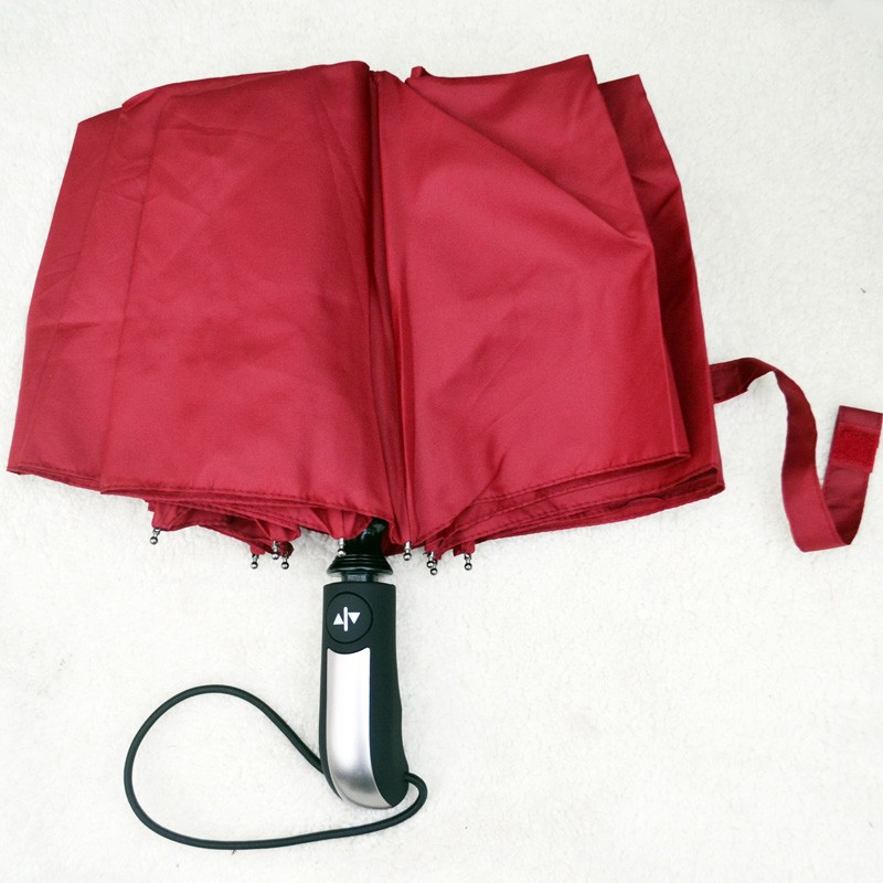 Business Luxury Men Umbrella 3 Folding Full Automatic Umbrella Super Windproof 10 Rib Fashion Blue Red Lady Umbrella Rain Women13
