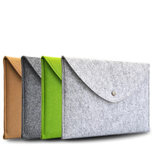 New Felt Sleeve Laptop Notebook Carry Case Cover Bag For Apple Macbook Pro Air13.3″ 13 nich For Macbook 11″ 12″ For Macbook 15″