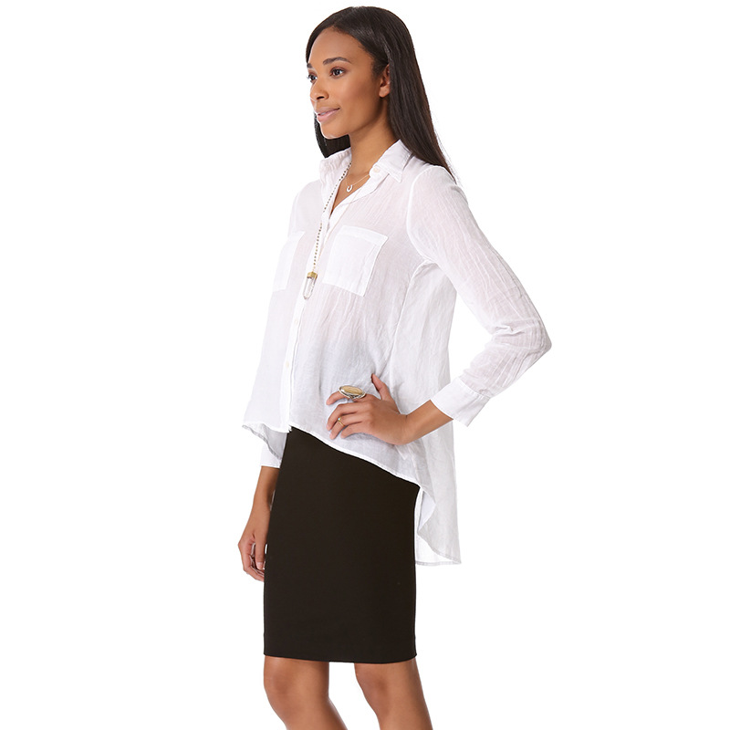 Popular  Tops Latest Design Womens Semi Formal Tops And Blouses Tunic Tops