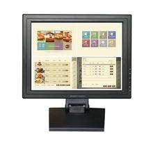Nova Bosstouch 15 Polegada 4:3 1024*768 usb 4-wire Tela Sensível Ao Toque LCD Monitor para POS Desktop garantia 1 ano(China (Mainland))