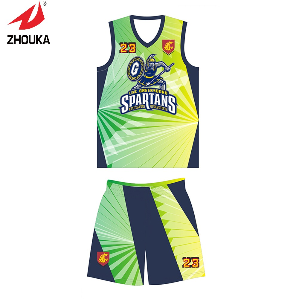 Unique Design for you Zhouka Fashion basketball uniforms custom any logo and pattern(China (Mainland))