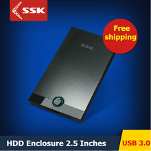 SSK SHE085 USB 3.0 HDD Enclosure 2.5 Inch SATA HDD CASE Serial port hard disk box External Harddisk HDD Enclosure(China (Mainland))