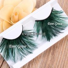 Fancy Long False Feather Eyelashes Makeup Eye Lashes Party Extension Cosmetics