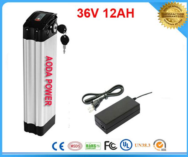 36v lithium battery  /  36v electric bike battery  /  36V 12Ah Lithium Battery lifepo4  Battery with Aluminum Case<br><br>Aliexpress