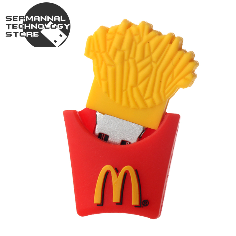 100% real capacity French fries 4gb 8gb 16g 32gb 64gb memory stick pen drive pendrive usb flash drive with h2testw free shipping(China (Mainland))