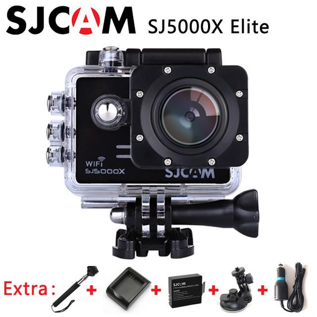 SJCAM SJ5000X Elite 4K Action Camera 1080p Wifi 2K 30fps Gyro Sports DV LCD Diving 30m Waterproof Helmet Sport Action Camera 4K(China (Mainland))