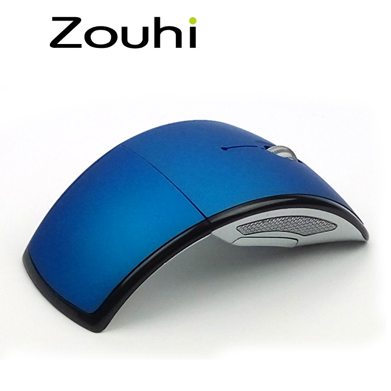Free shipping Unbranded/Generic 2.4ghz Laser Pointer wireless mouse 1600DPI Foldable Mini Ergonomic Mice Fit With Windows Mac os(China (Mainland))