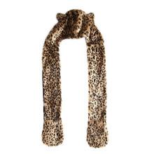 New Promotion Sexy Fashion Hot Sale Warm Animal Fur Hat Scarf Fluffy Plush Cap Ear Hood Shawl Glove Unisex ALOM(China (Mainland))