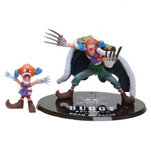 Cartoon Anime One Piece Buggy Figure Buggy Joker PVC Action Figure Good Collection Figure Approx 12cm