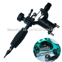 Free Shipping New Black Steel Imported Dragonfly Tattoo Machine(China (Mainland))