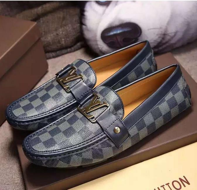 Mens Shoes Casual 2016 Fashion Men Shoes Genuine leather Men Loafers Moccasins Slip On Mens Flats Metal decoration Male Shoes<br><br>Aliexpress