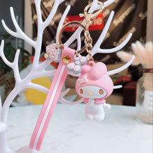 Japonês clássico animais bonitos dos desenhos animados (Olá Kitty etc) Keychain/Keyring o presente para sua namorada, esposa ou filhos(China)