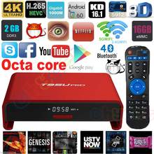 Buy T95U PRO Android 6.0 Smart TV Box Amlogic S912 Octa core ARM Cortex-A53 2GB/16GB Dual Band WiFi VP9 H.265 UHD 4K Media Player for $100.00 in AliExpress store