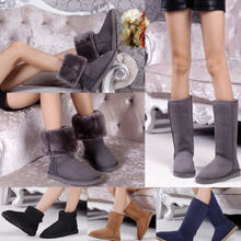 2015 Australia Classic Tall Snow Boots Women's Real Leather Winter Classic Long Short Boots Shoes size free shipping
