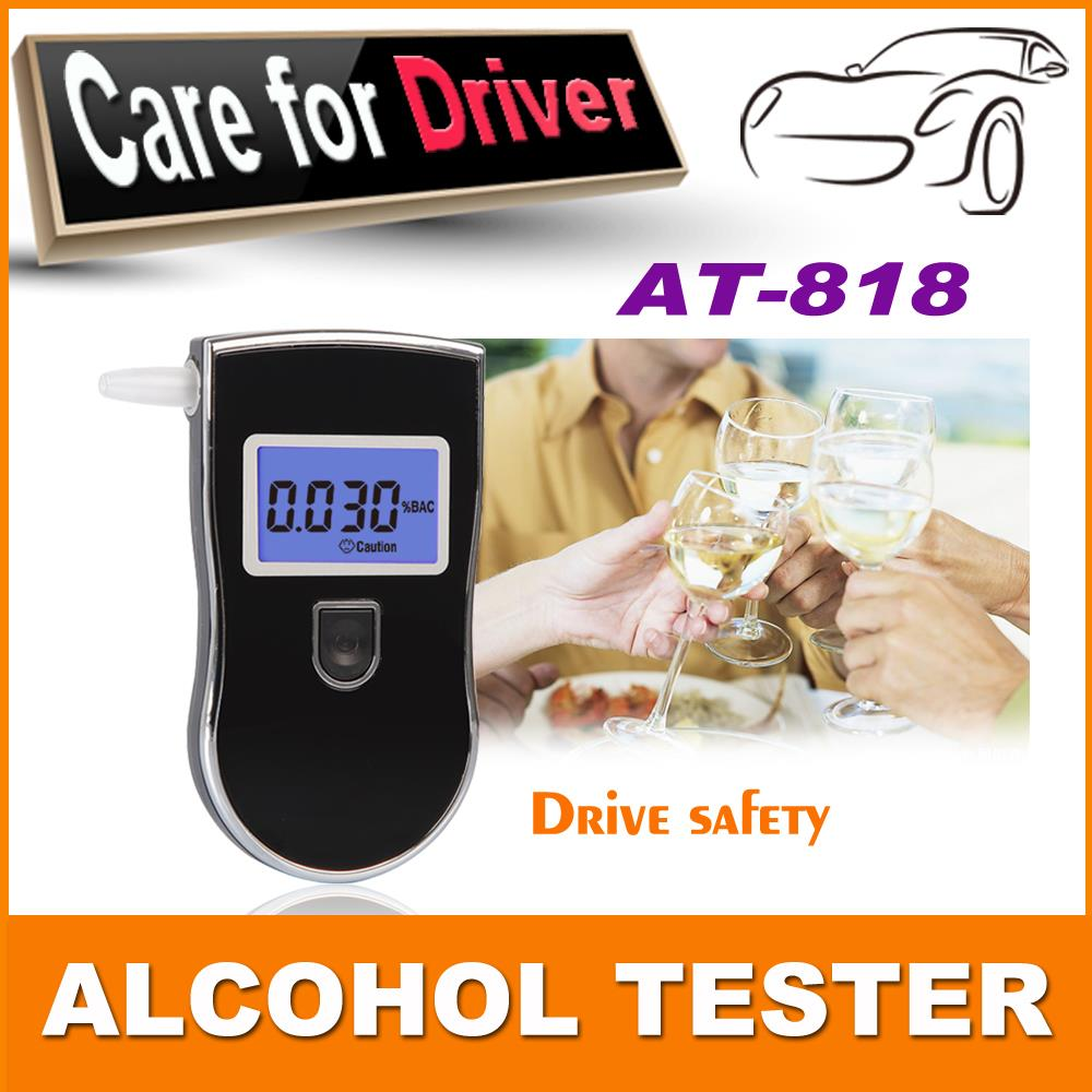 Crazy promotion new patent wholesale portable digital mini breath alcohol tester alcohol tester(China (Mainland))