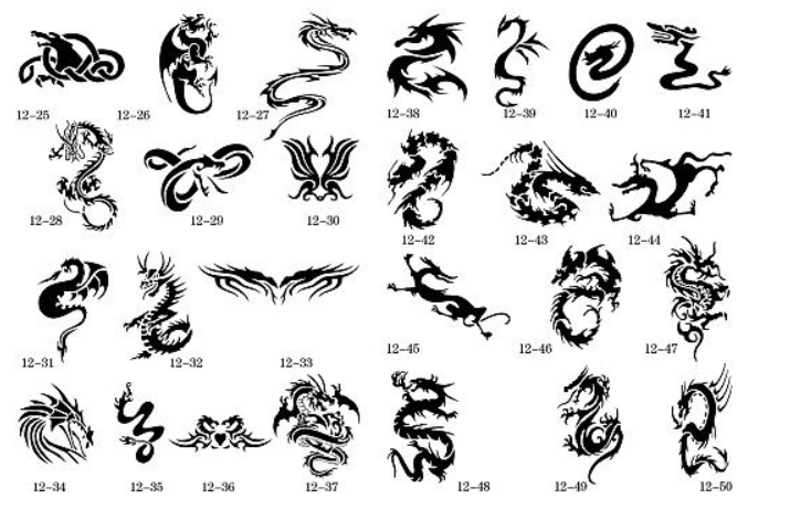 Booklet Printers Picture More Detailed About Temporary Airbrush Tattoo Stencil