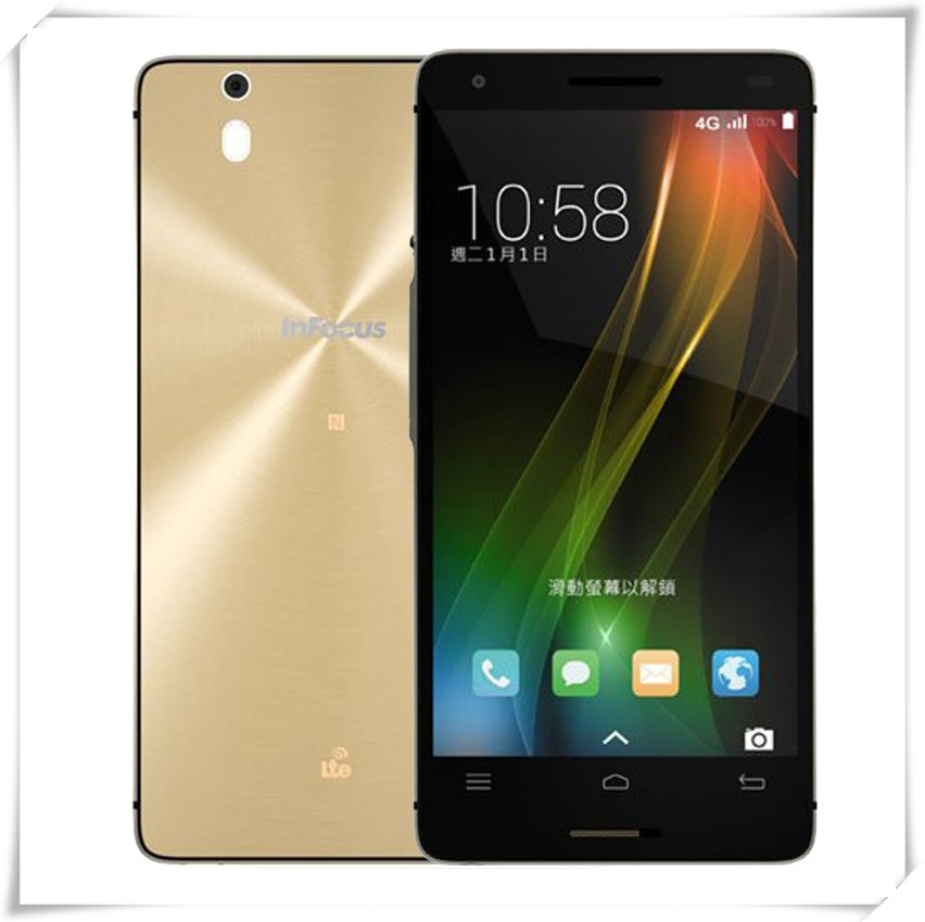 Original 5.5 Inch Foxconn for Infocus M810 4G LTE Mobile Phone Snapdragon 801 Quad Core 2GB RAM 16GB ROM Android 4.4 13MP GPS