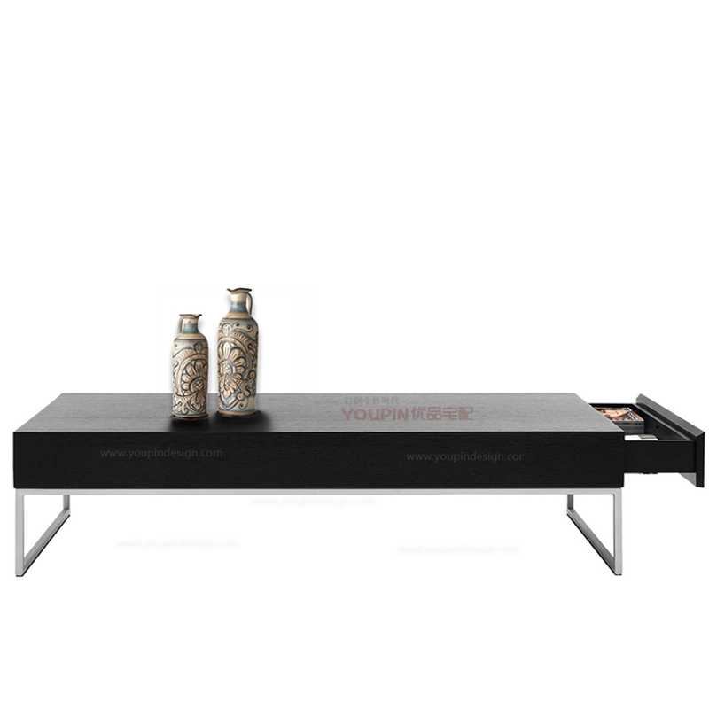 Stainless Steel And Wood Coffee Table: The New Rectangular Stainless Steel Legs Direct Nordic