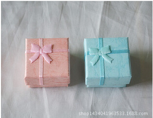 1200pcs/lot New  wedding ring paper box colorful Paper package box for Jewelry &amp; Gifts &amp; Accessories 4*4*3 CM For Finger Ring<br><br>Aliexpress