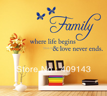 life wall art stickers