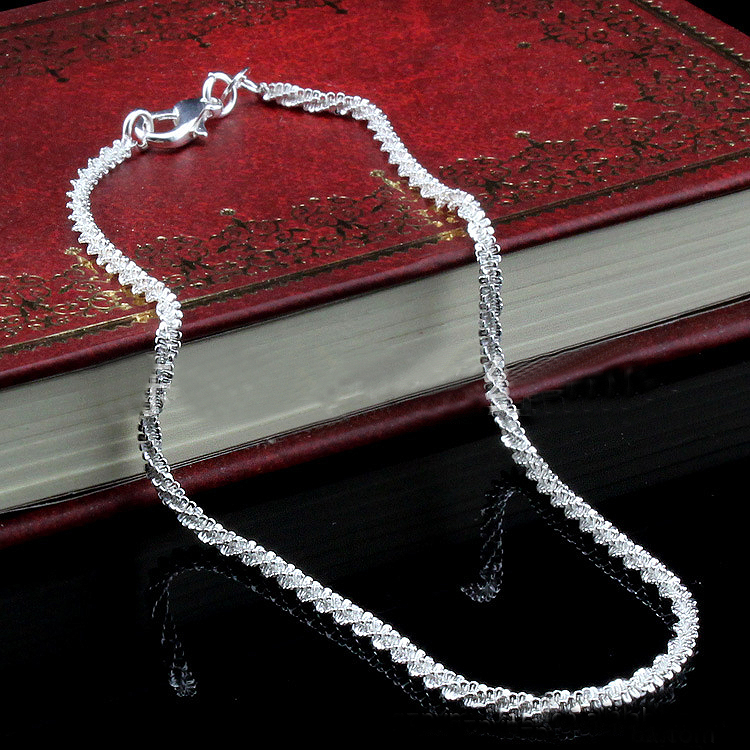 YP1013 New 2015 Summer Anklet Fashion Korean Style Simple Design Silver Alloy Jewelry(China (Mainland))