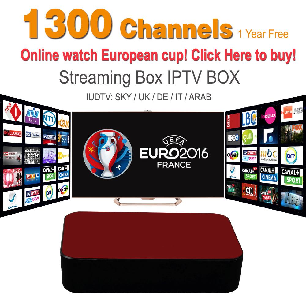 Streaming IPTV Box Mag 254 Mag 250 1Year 1300+ Sky Canal Channels IPTV Server Streaming Box Streaming Sever Media Player(China (Mainland))