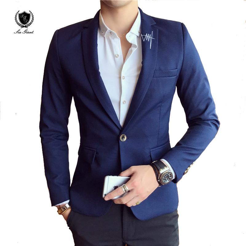 Online Get Cheap Mens Designer Blazer Aliexpress