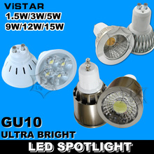 3W LED spotlights lamp cup GU10 base LED bulbs downlight light 110V-220V 230V Warm white Cold white Wholesale free shipping