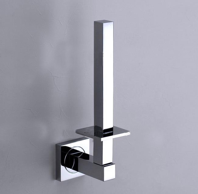 Solid brass chrome finish toilet paper holder roll stand for Bathroom accessories stand