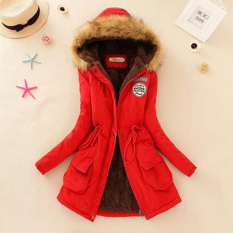 Women's Jacket Winter 2016 New Scarf Collar jacket women With a cap down coat solid doudoune femme Zipper slim women basic coats
