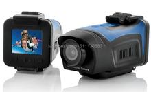 Neue Full HD 1920x1080 P 1,5 Zoll bildschirm Helm Wasserdichte Kamera HD Outdoor Sports Action Kamera Digitalkameras Kostenloser versand(China (Mainland))