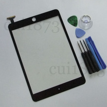 Best price Replacement Digitizer Touch Screen Replacement Glass for iPad mini BLACK+free Tools(China (Mainland))