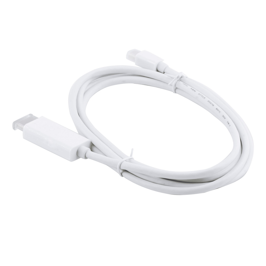 Brand 3M white Mini Displayport To HDMI Cable Adapter For Macbook for Pro Air for iMac(China (Mainland))