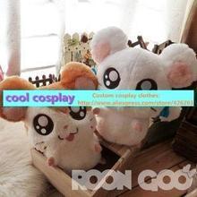 Kawaii Cute Big Eyes Mouse Stuffed Animal Bijou Hamtaro Plush Toy For Baby Girl Boy Birthday Gift 30cm