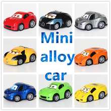 Retail 8 color 4 style metal alloy A famous car Classic Toys pull-back Cars Diecast & Toy Vehicles Toys(China (Mainland))
