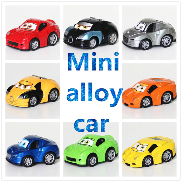 Retail 8 color 4 style metal alloy A famous car Classic Toys pull-back Cars Diecast & Toy Vehicles Toys